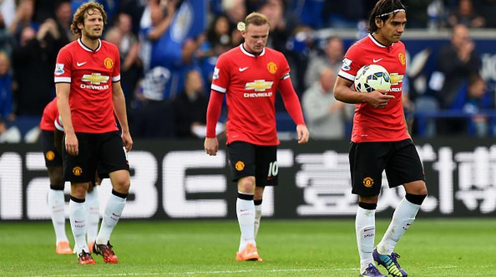 Decepción y tristeza de los jugadores del Manchester United   - 1