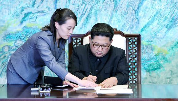 Kim Yo-jong es la hermana menor de Kim Jong-un, además de su confidente y principal asesora. (Reuters)