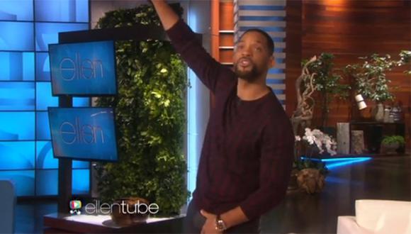 """Will Smith recordó el tema de """"El príncipe del rap"""" (VIDEO)"""