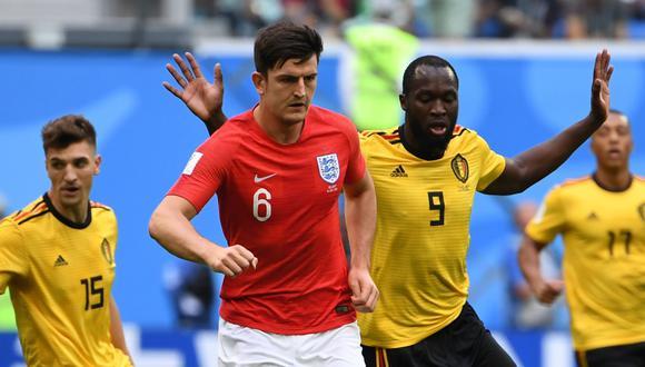 Inglaterra y Bélgica volverán a cruzarse en Rusia 2018. Esta vez será por la medalla de bronce. El anterior juego que sostuvieron fue por la fase de grupos y el triunfo fue para los 'Diablos Rojos'. (Foto: AP)