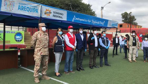 Los comandos regionales contra el COVID-19 han sido conformados hasta ahora en Arequipa, Lambayeque y Loreto. (Foto: Zenaida Condori)