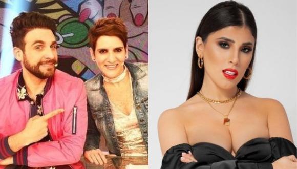 """""""Amor y Fuego"""" anuncia la 'verdadera entrevista' a Yahaira Plasencia este viernes. (Foto: @yahairaplasencia/@gigi_mitre)"""
