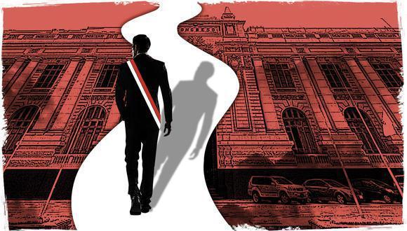 El presidente Martín Vizcarra enfrenta un nuevo proceso de vacancia por permanente incapacidad moral ante el Congreso de la República. (Ilustración: El Comercio)