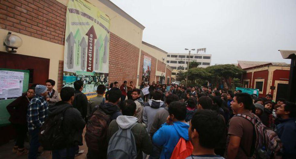 UNFV: estudiantes toman facultades en rechazo a sus autoridades - 6