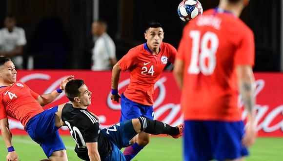 Argentina vs. Chile EN VIVO y EN DIRECTO: la 'Albiceleste' pretende sumar un nuevo triunfo ante 'La Roja'. (AFP)