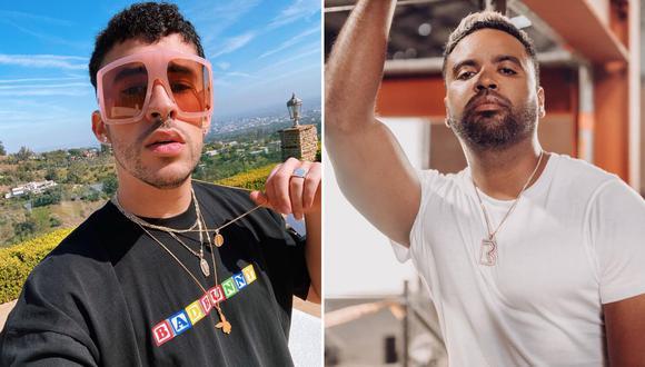 Zion reapareció en los Spotify Awards 2020 tras encontrarse enfermo y Bad Bunny aprovechó evento para abrazarlo. (Foto: Instagram)