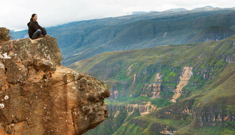 Mirador del Cañón del Sonche. Está situado a 20 de la ciudad de Chachapoyas.(Foto: Archivo El Comercio)