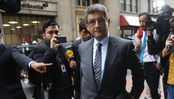 Juan Sheput fue citado este lunes por el fiscal José Domingo Pérez en el marco del caso Keiko Fujimori. (Foto:  Jesús Saucedo Olórtegui / GEC)