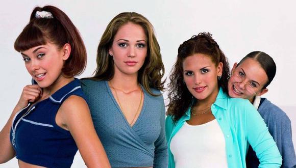 """""""Soñadoras"""" fue una telenovela juvenil estrenada a finales del siglo XX y que reunió a un interesante grupo de actores que más tarde controlarían la escena del espectáculo mexicano (Foto: Televisa)"""