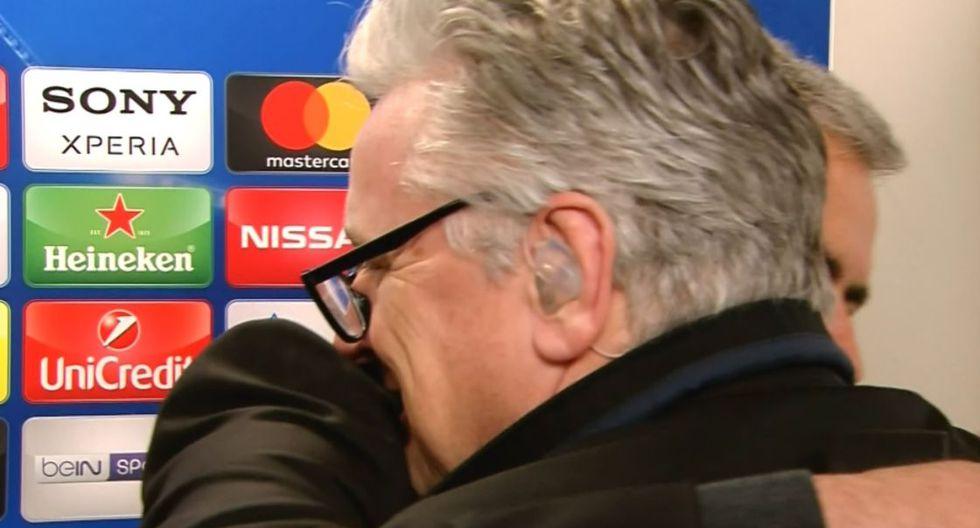 Facebook: Mourinho abrazó a un periodista por esta pregunta. (Foto: captura de Facebook)