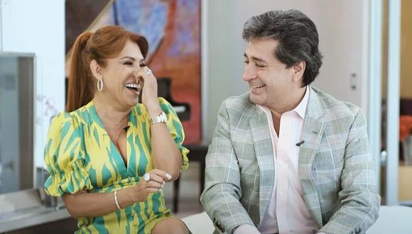 Magaly Medina viajó a Europa con su esposo Alfredo Zambrano. (Foto: captura de video).