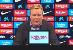 """Ronald Koeman: """"¿Por qué el VAR solo se utiliza en contra del Barcelona"""""""
