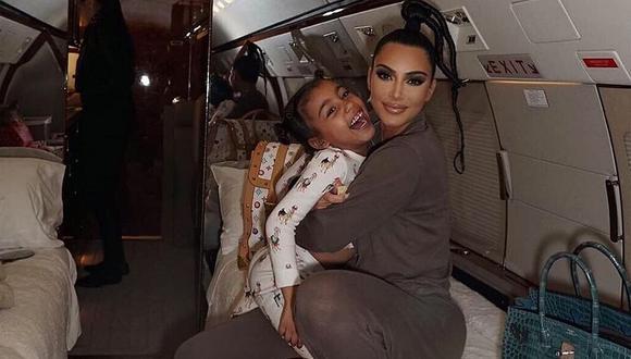 Kim Kardashian dio a luz a North West en el 2013 (Foto: @kimkardashian)