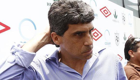 Álvaro Barco, gerente deportivo de la Universidad San Martín, no tuvo autorización para participar en la reunión entre la Federación Peruana de Fútbol (FPF) y clubes. (Foto: GEC)