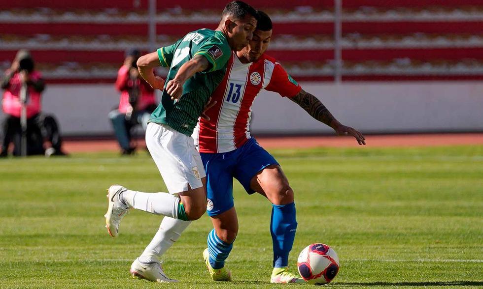 Bolivia vs. Paraguay por las Eliminatorias Qatar 2022 | Foto: EFE.