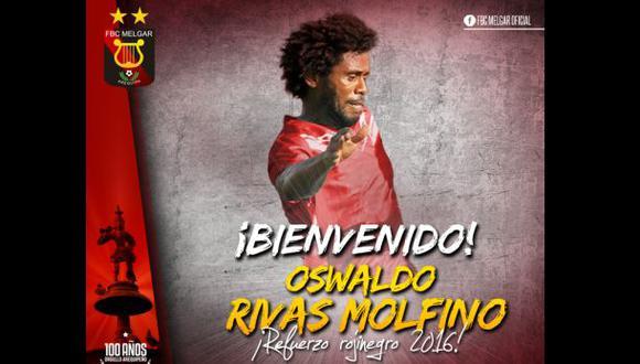 Melgar y su nuevo refuerzo para la Copa Libertadores 2016
