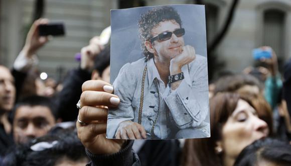 Los restos de Gustavo Cerati fueron sepultados en La Chacarita