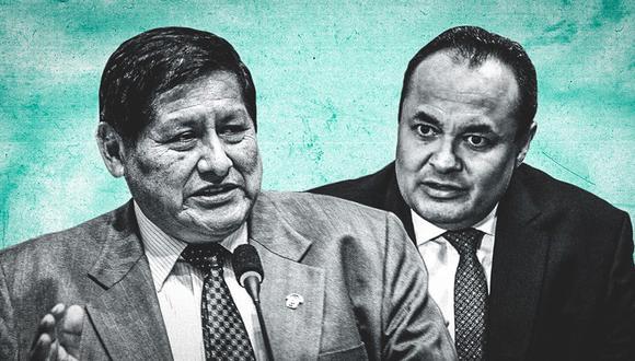 Juan Pari y Luis Carranza. (Fotocomposición: El Comercio)