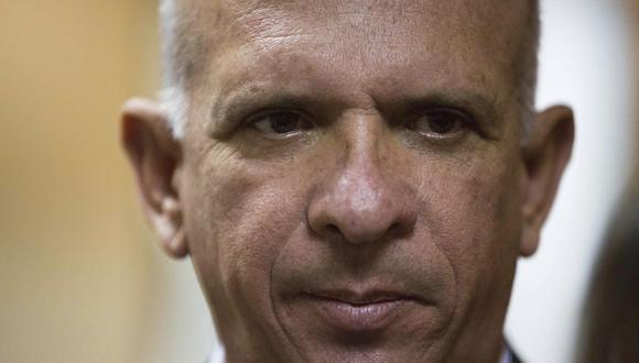 El ex general chavista Hugo Carvajal está preso en España en espera de que se decida su extradición a Estados Unidos, que lo busca por narcotráfico. (AP).