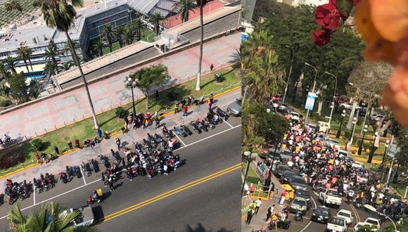 El municipio de Chorrillos indicó que han pedido el apoyo de la Policía Nacional del Perú para fiscalizar la zona de La Herradura, ante denuncias por motociclistas que realizan maniobras temerarias.