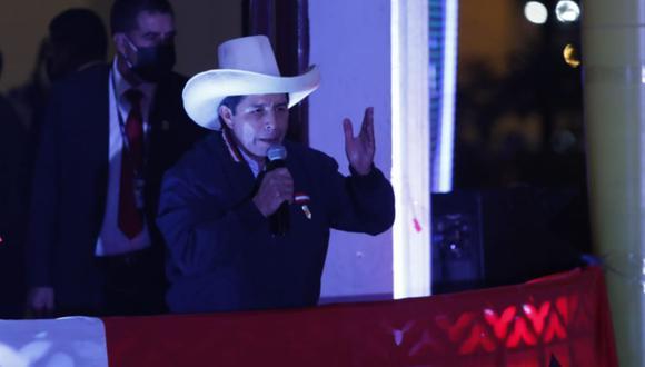 El candidato presidencial de Perú Libre, Pedro Castillo, se encuentra a la espera de los resultados al 100% de la segunda vuelta de las Elecciones 2021 | Foto: César Bueno / @photo.gec