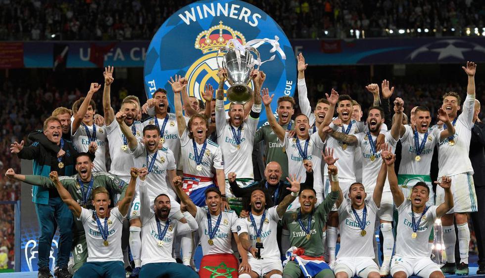 Real Madrid. (Foto: AFP)