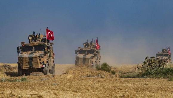 El domingo por la noche, Trump anunció la retirada de las tropas de Estados Unidos que quedan en Siria tras una conversación telefónica con su homólogo turco. (AFP)