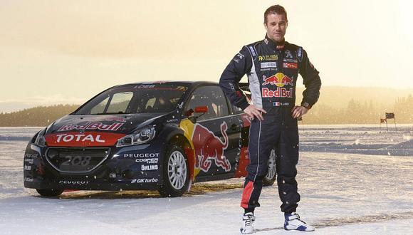 Sébastien Loeb correrá el Mundial de Rallycross con Peugeot