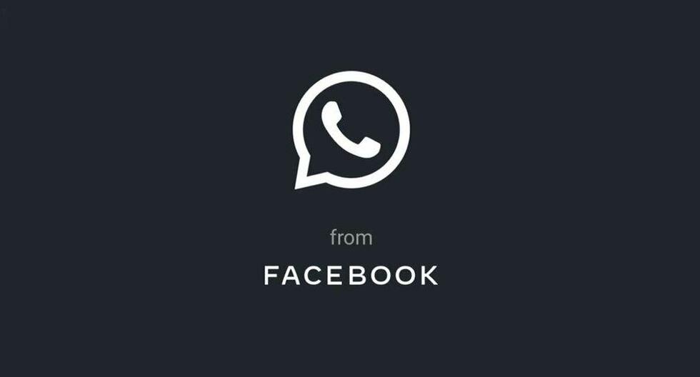 """¿Has recibido un mensaje con el que puedes activar el """"modo oscuro"""" en WhatsApp? Estos son los pasos que debes hacer. (Foto: WhatsApp)"""