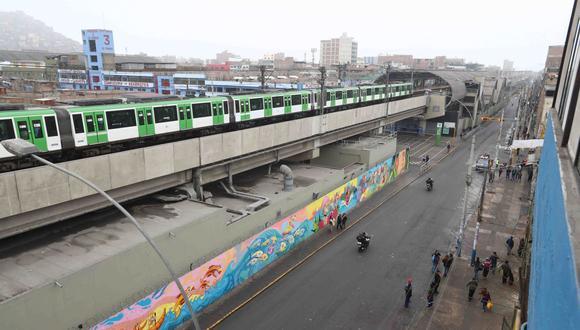 Las obras de la Línea 2 del Metro de Lima han avanzado con retrasos. (Foto: GEC)