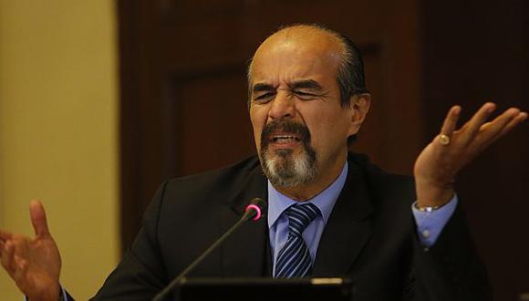 Mauricio Mulder criticó la gestión del fiscal de la Nación, Pablo Sánchez, respecto a las investigaciones del Caso Lava Jato. (Foto: El Comercio)