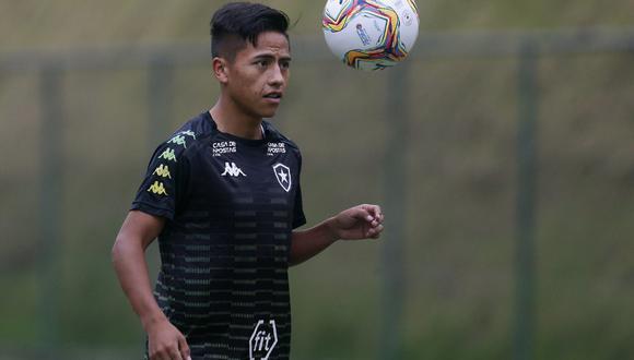 Alexander Lecaros llegó a Botafogo procedente del Real Garcilaso. (Foto: Botafogo)