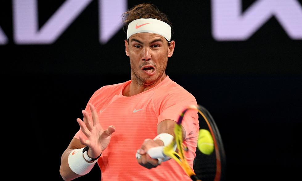 Rafael Nadal derrotó 7-5, 6-2 y 7-5 a Cameron Norrie y clasificó a octavos del Australian Open | Foto: EFE