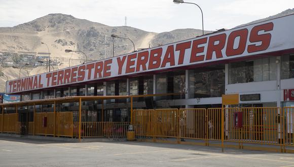 Terminales terrestres de Yerbateros y Atocongo permanecen cerrados debido al paro de transportistas de carga. (Foto: Referencial/ Archivo de GEC)
