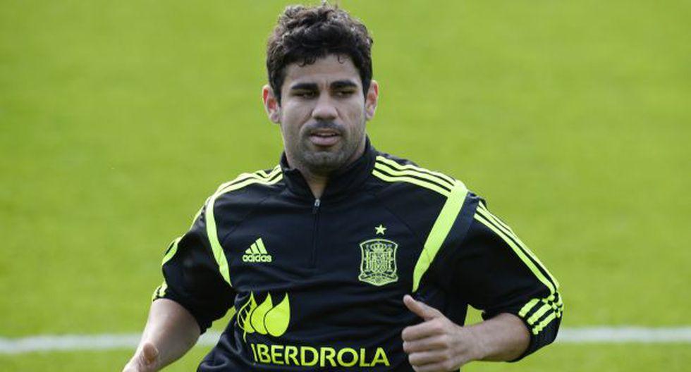 Diego Costa confesó que quiere jugar en el Chelsea