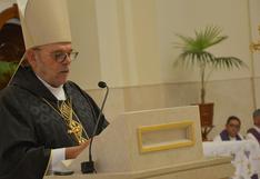 El papa Francisco acepta la renuncia del obispo del Callao