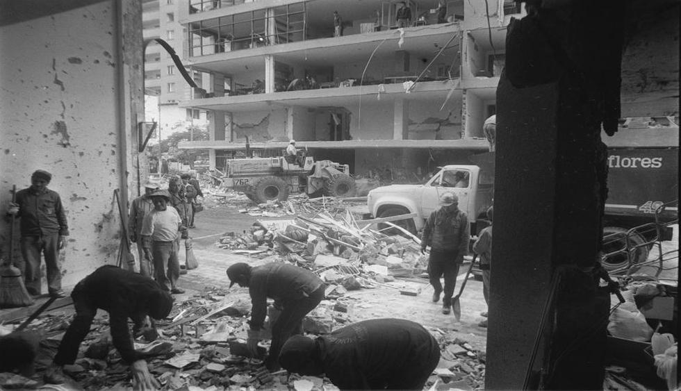El devastador atentado de Sendero en la calle Tarata [FOTOS] - 1