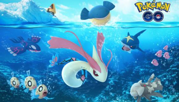 Nuevas criaturas de Hoenn llegarán en los últimos días del año. (Foto: Pokémon Go)