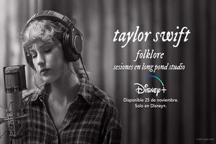 Disney+: Taylor Swift nos invita a disfrutar de 'folklore'