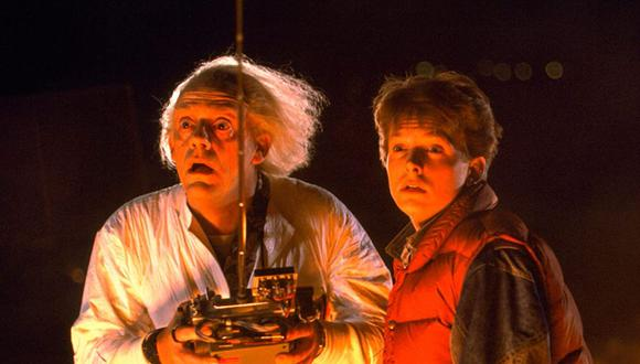 """""""Volver al futuro"""" es considerada una de las películas más icónicas del género de ciencia ficción. Con Christopher Lloyd y  Michael J. Fox, abrió las puertas a los viajes en el tiempo en el cine (Foto: Universal Pictures)"""