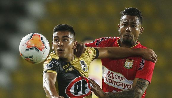 Sport Huancayo - Coquimbo. (Foto: AFP)