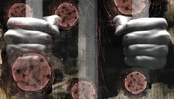 Producto de la pandemia, diversos investigados por el Caso Lava Jato han dejado los centros penitenciarios donde cumplían prisión preventiva. (Ilustración: El Comercio)