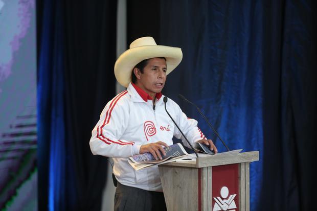 Debate entre Keiko Fujimori y Pedro Castillo se desarrolla en la UNSA. (Hugo Perez / @photo.gec)