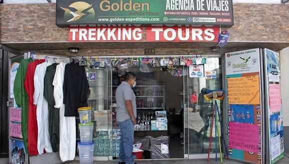 Negocios turísticos se reconvierten ante la pandemia. (Foto: AFP)