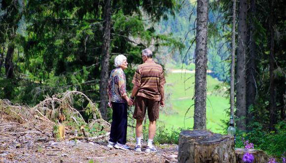 La pareja de ancianos logró escapar luego que el hombre se memorizará la clave de la cerradura electrónica. | Foto: Pexels