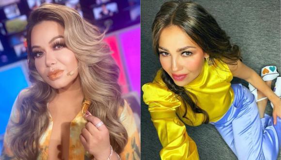 Chiquis Rivera cambia el color de su cabello y fans la comparan con Thalía. (Foto: Instagram)