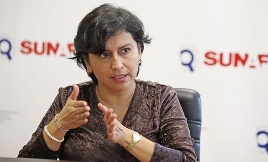 La ministra de Trabajo rechazó los hechos de violencia registrados en la sede del MTPE. (Foto: GEC)