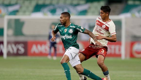 Universitario enfrentó a Palmeiras por la Copa Libertadores