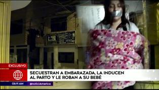 Tráfico de menores: Secuestran a embarazada y la inducen al parto para robarle al bebé