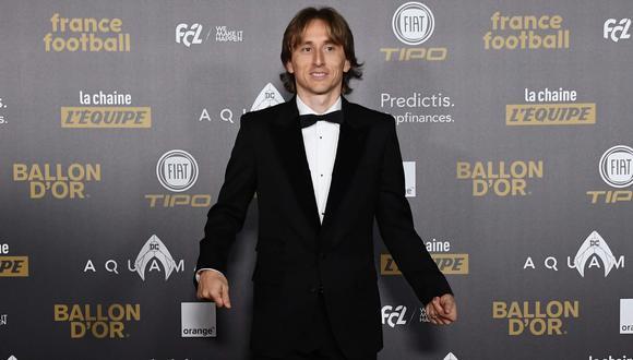Balón de Oro 2018 EN VIVO: Luka Modric ganó el galardón al futbolista del año | VIDEO. (Foto: AFP)